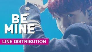 [Line Distribution] PRODUCE 101 - Be Mine Team 2 (내꺼하자 2조)