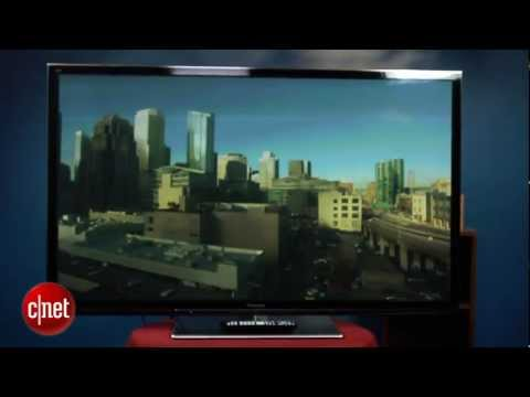 Panasonic GT50 series plasma TV - First Look