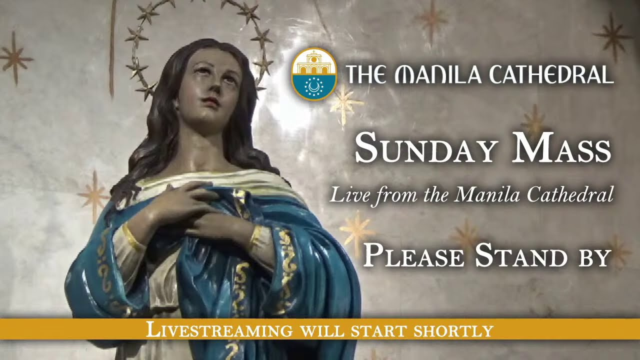 Sunday Mass at the Manila Cathedral - January 17, 2021 (8:00am)