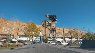 Купить BMX. Урок 6 - Трюки на BMX: no hand, tire grab, no foot