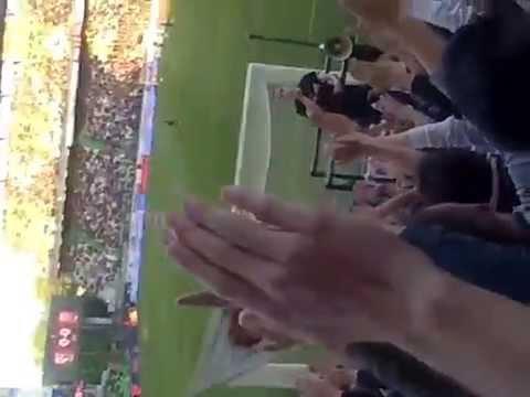 chant fc metz clapping