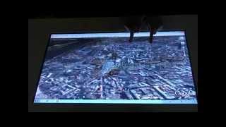 Интерактивный стол (ITable multitouch) на REX 2010(http://www.touchme.com.ua ITABLE - это революционный интерактивный, мультисенсорный (multitouch) компьютер, позволяющий взаи..., 2010-10-11T17:59:33.000Z)