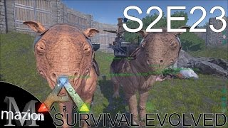 ARK: Survival Evolved - Taming a Paraceratherium (Paracer) with Zueljin! S2E23 Gameplay