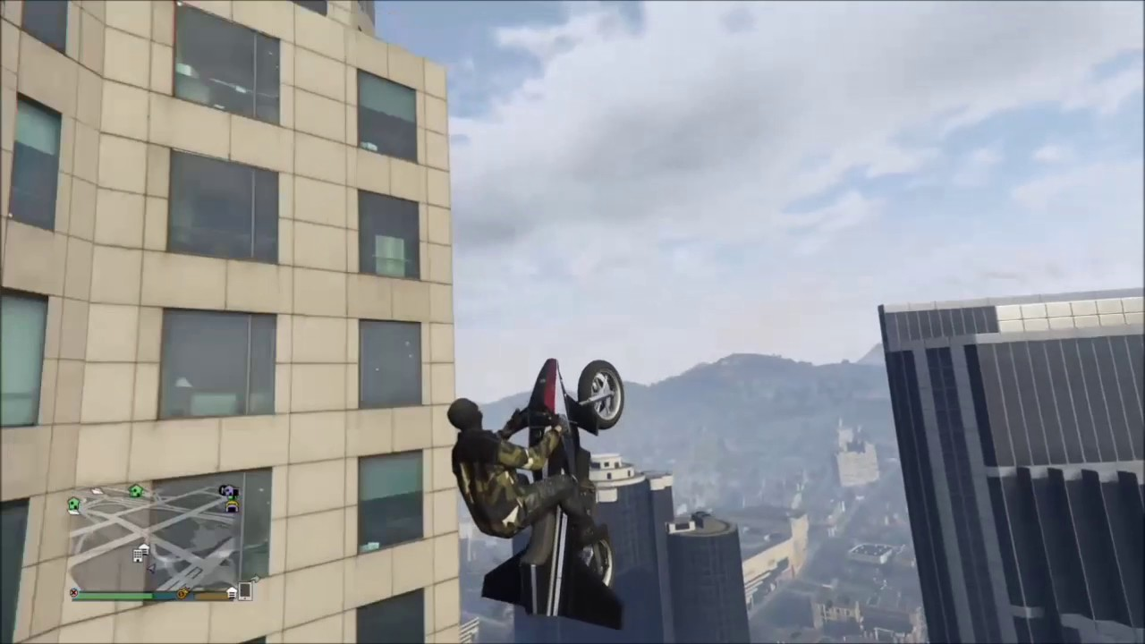 gta 5 how to get on top of maze tower