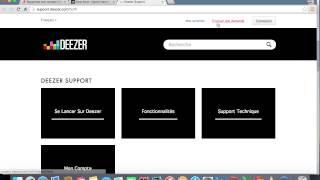 Supprimer un compte deezer