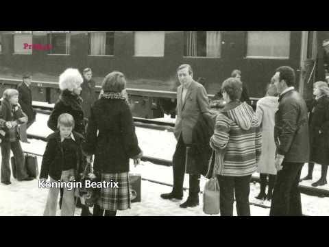 Koningin Beatrix en het spoor