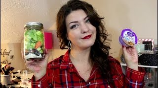 Weight Watchers Wednesday! What I Eat For Breakfast/lunch, Salad Jars & Weight Gain!