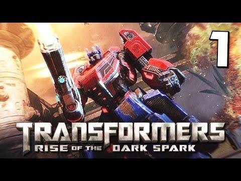 Transformers Rise of the Dark Spark Прохождение — Часть 1: Пролог / Тёмная Искра