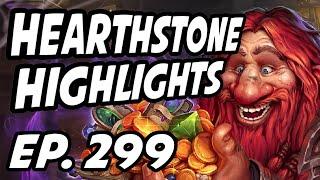 Hearthstone Daily Highlights | Ep. 299 | DisguisedToastHS, ESL_Hearthstone, Savjz, nl_Kripp