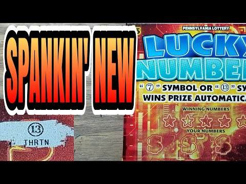 New $5 lucky numbers. Pa lottery scratch tickets