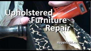 Upholstered Furniture Repair - Anybody Can Do / Diy