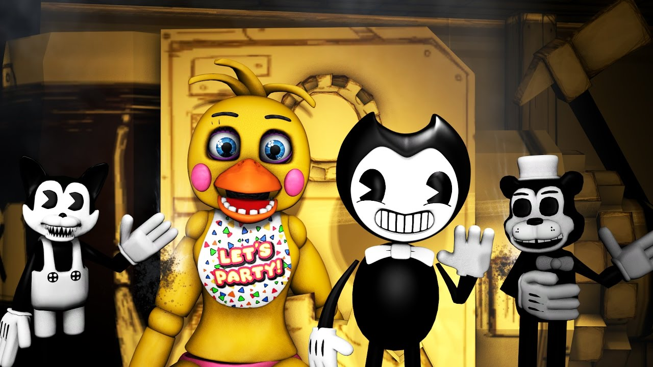 Foxy Bendy Chica Five Nights At Freddy S Animations