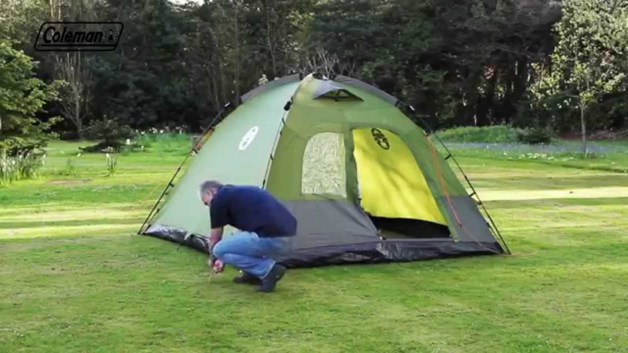 & Coleman® Instant Dome 5 - YouTube
