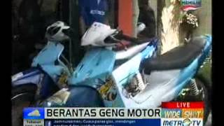 Jakarta: Klub motor XTC berdiri tahun 1982 dan berawal dari geng mo...