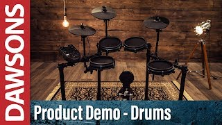Alesis Nitro Mesh Electronic Drumkit Overview