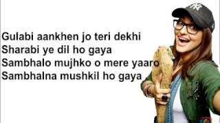 Gulabi 2.0 Lyrics Video Tulsi Kumar Amaal Mallik Yash Naverkar