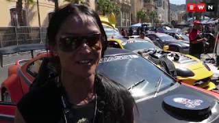 Drift City: Cape Town's CBD becomes a race track