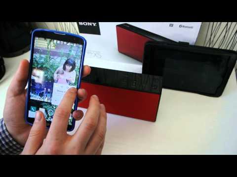 Работа NFC на Sony SRS-X5
