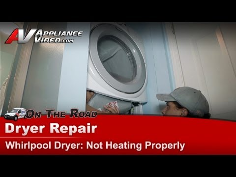 Whirlpool Duet Dryer Not Working How To Fix The Thermo