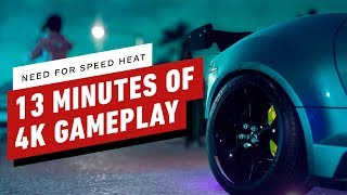 Need For Speed Heat: 13 Minutes of 4K Gameplay