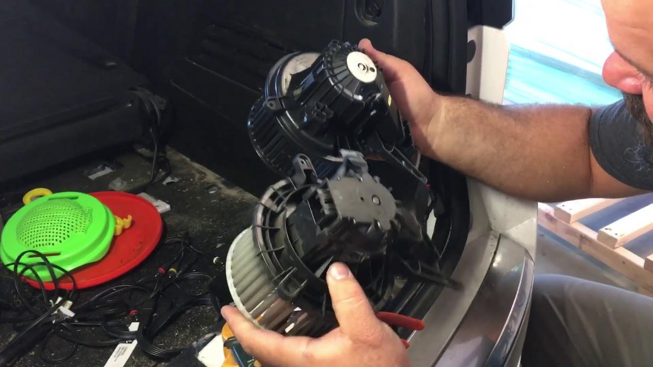 2013 Gmc Acadia Rear A C Blower Motor Youtube 2010 Traverse Fuse Box