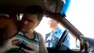 Гаишник Наделал в штаны  Развод ГАИ  Приколы на дороге 2013