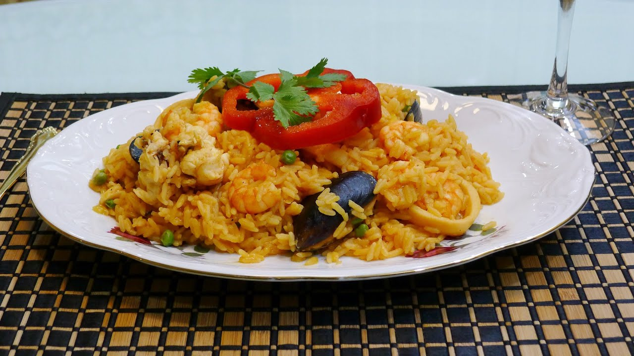 arroz de marisco facil
