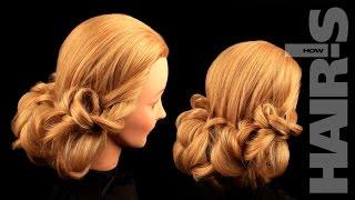 Греческая прическа - видеоурок (мастер-класс) Hair's How