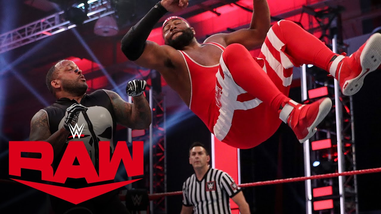 The Street Profits vs. Bobby Lashley & MVP: Raw, May 25, 2020
