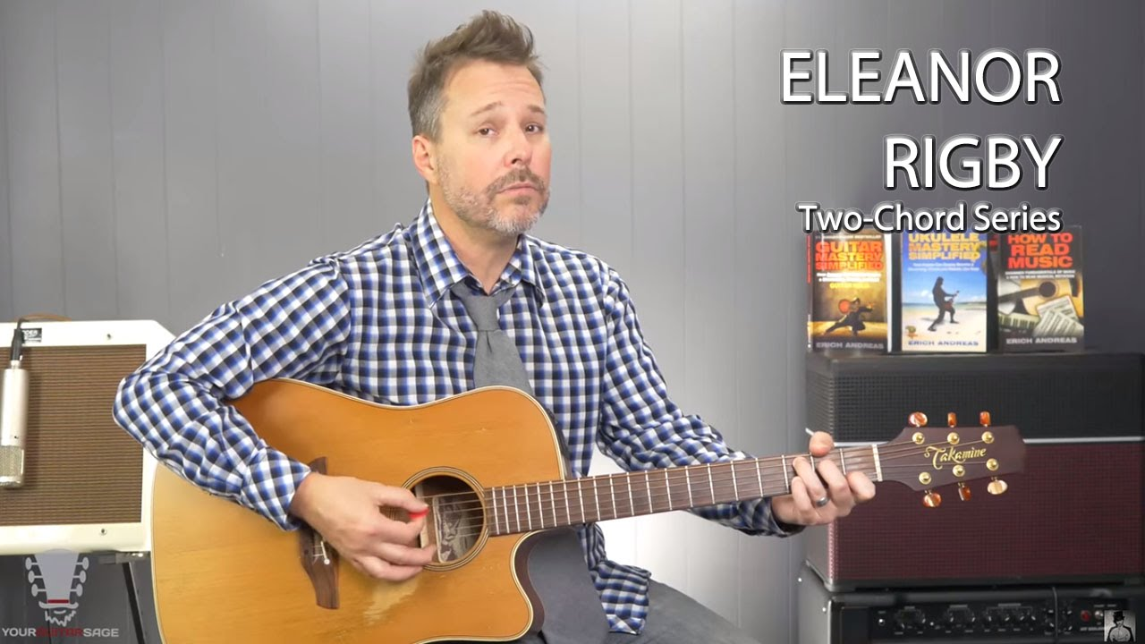 Eleanor Rigby The Beatles Guitar Player Box  Easy