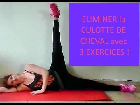 ELIMINER la CULOTTE DE CHEVAL avec 3 EXERCICES en DIRECT ...
