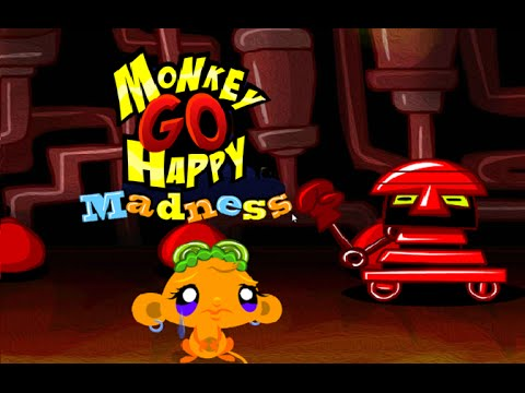 MONKEY GO HAPPY NEW STAGES - Main Menu- Play …