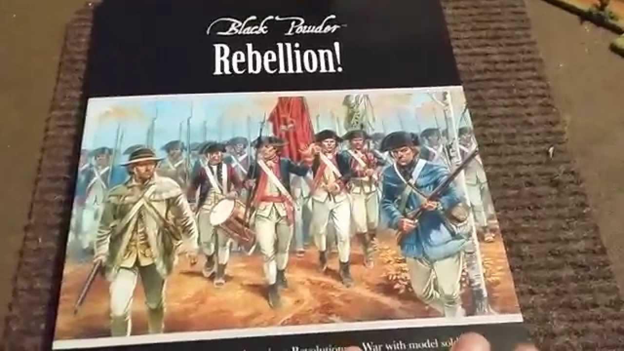 Black Powder Rebellion Book Review - Warlord Games