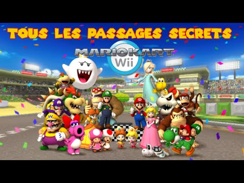 Mario kart wii les passages secrets et les raccourcis - Passage secret mario bros wii ...