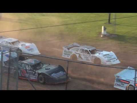 6/2/2017 Red Cedar Speedway Late Model Heat Race Jesse Glenz 5th to 1st