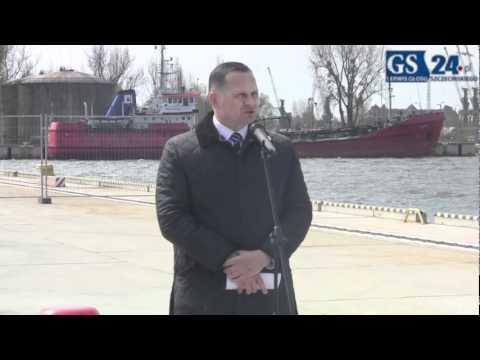 Port Szczecin: Otwarcie kontenerowego terminalu