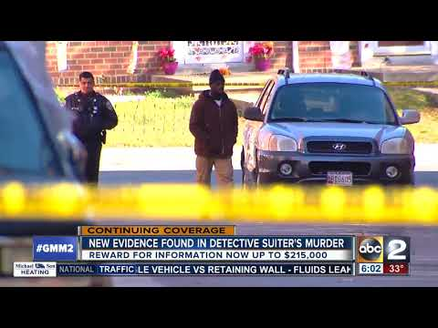 BPD re-expand the crime scene where Detective Suiter was shot