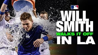 Dodgers' Will Smith hits WALK-OFF homer