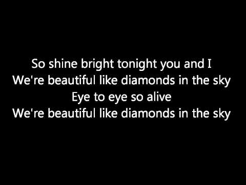 Diamonds [Remix] (Ft. Kanye West) - Lyrics