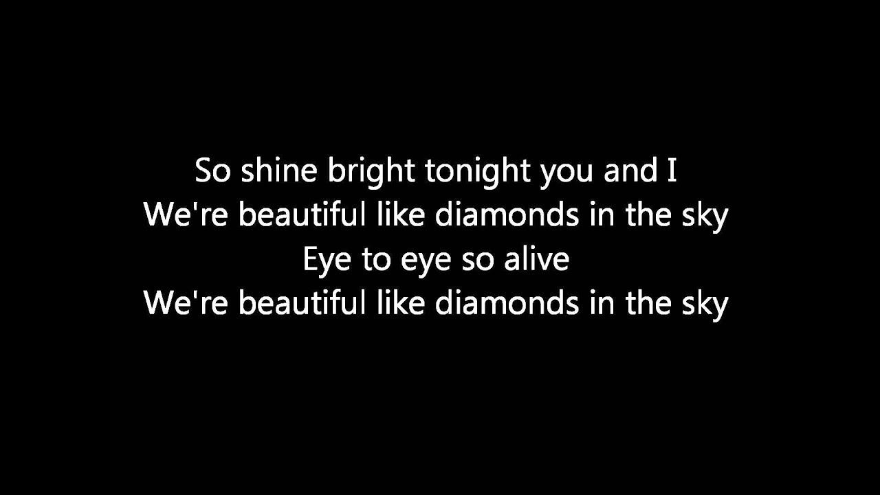 Kanye West Diamonds [Remix] (Ft. ) - Lyrics Diamonds ...