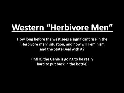 How Long Till we Get Herbivore Men in the West?