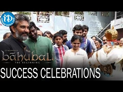 Thumbnail: Bahubali Movie Team Success Celebrations - Prabhas | Rana | Anushka Shetty | Rajamouli