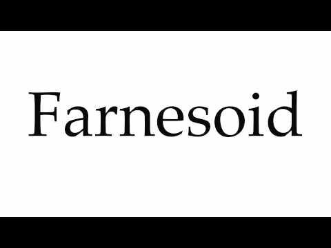 How to Pronounce Farnesoid