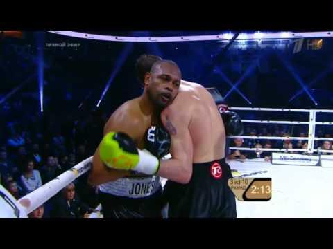 Roy Jones Jr vs. Enzo Maccarinelli (Full Fight) (KO)  12/12/2015