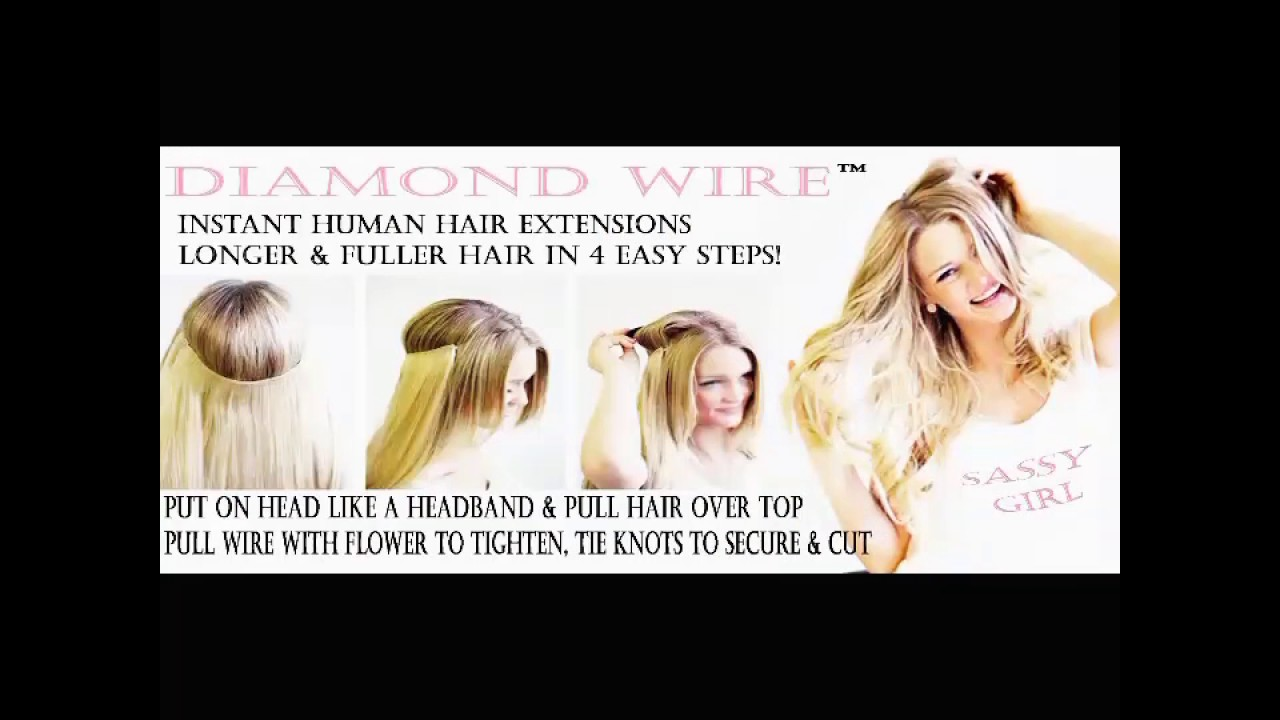 Sassy Lil Secrets Hair Extensions Youtube