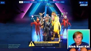 Fortnite Battle Pass season x Alek Kool Kat