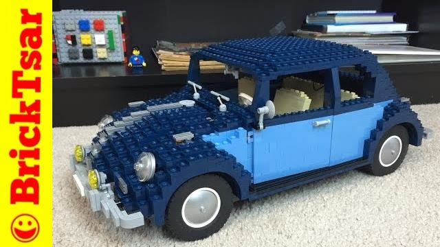 lego 10187 vw beetle charlotte bwb update 2008 set. Black Bedroom Furniture Sets. Home Design Ideas