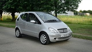 2001 mercedes a160 elegance automatic video review