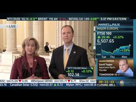 CNBC Interview with Rep Ann Wagner & Rep Adam Schiff