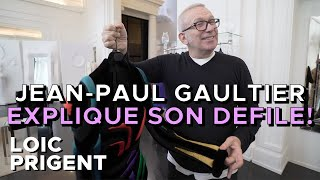 JEAN-PAUL GAULTIER: THE MASTER EXPLAINS EVERY OUTFITS! by LOIC PRIGENT